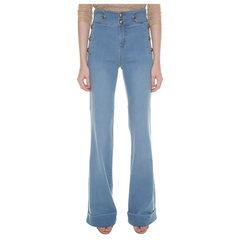 Calça Jeans Flare Botões Pat Pat's