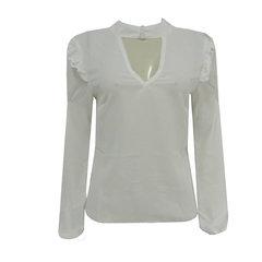 Camisa Manga Longa Branco Loviity