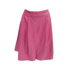 Saia Pregas Couro Eco Pink Pat Pat's