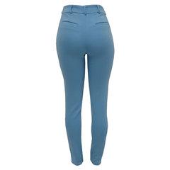 Calça Skinny Neoprene Azul Claro She Likes