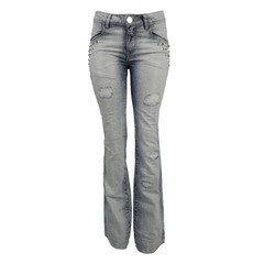 Calça Flare Jeans Piramide Litt'