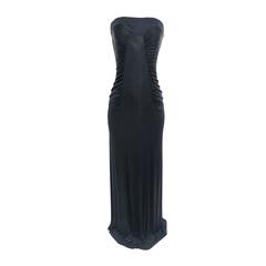 Vestido Longo Jersey Anne TQC Preto Iódice