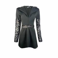 Vestido Gola Blazer Lú Pessanha - 41723