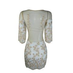 Vestido Decote V Chiffon Litt'