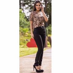 Calça Skinny Jeans Black Amapô