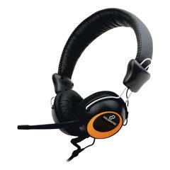 Fone de Ouvido Headset com Microfone Goldentec F2000 Preto