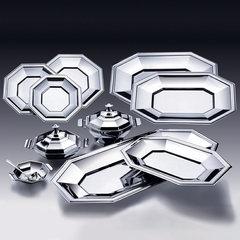 Baixela Octogonal em Aço Inox com 11 Peças - Rojemac - 8960