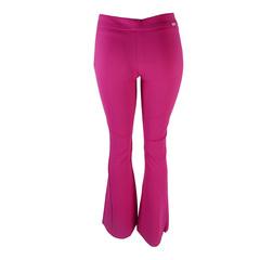 Calça Flare Opaco Pink Iódice Denim