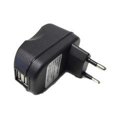 Carregador com 2 Portas USB 2.1A Bivolt Preto Goldentec - 26979
