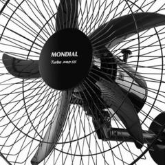 Ventilador de Coluna Mondial 50CM Bivolt 140 Watts 5 Pás Preto - VC-PRO-55
