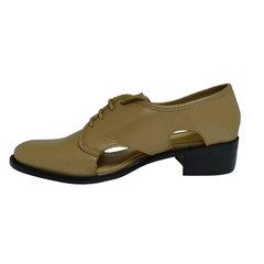 Sapato Feminino Oxford Nude Luiza Barcelos