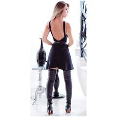 Vestido Thaiza Decote com Cinto Preto Le BLog