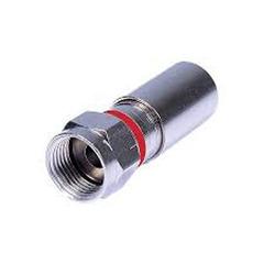 Conector F RG6 Vinik Compressão - EV14