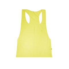 Camisa Regata Aberta Fitness Amarelo Allmare