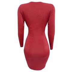 Vestido Curto Nó Vermelho Nathi Faria