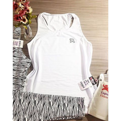 Camisa Regata Fitness Branco AllMare