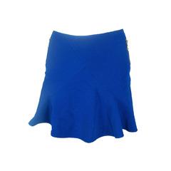 Saia Saiote Detalhe Zíper Azul Litt'