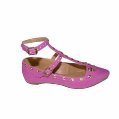 Sapatilha Spikes Pink Macro Fashion
