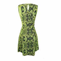 Vestido Estampado Snake Iódice Denim