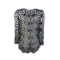 Camisa Manga Bufante Estampada Litt'
