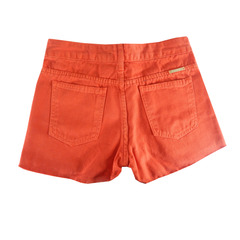 Short Jeans Franjas Tomate M.Oficer