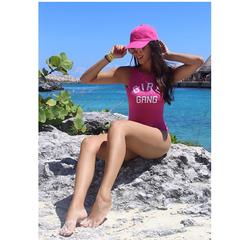 Body Summer Aberto nas Costas Rosa Lou Bucca