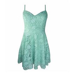 Vestido Guipir Verde Claro B.Boucle