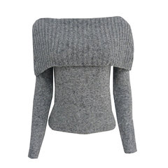 Blusa Tricot Ombro a Ombro