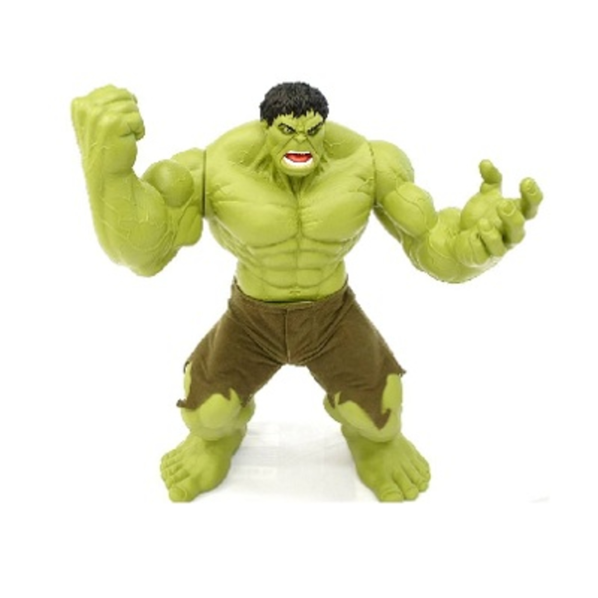Incrivel Hulck Beautiful boneco incrível hulk premium mimo 55cm - macro virtual
