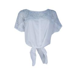 Blusa de Renda Morcego Off White Litt'