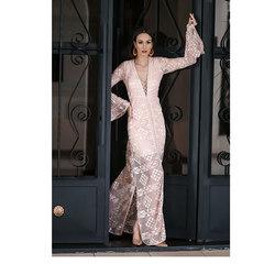 Vestido Longo Renda Rose Iorane