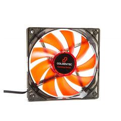 Cooler Goldentec 120x120x25 12V com Led Vermelho - 31078
