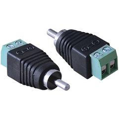 Conector RCA Macho Vinik Parafusável - SV35