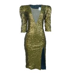 Vestido Lápis com Decote V Wagner kallieno