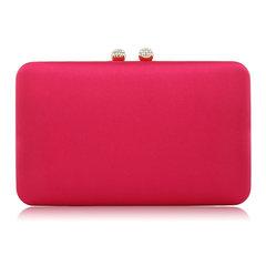 Clutch em Cetim Pink Donna Brasil