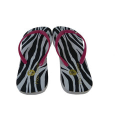 Chinelo Femino Estampa Zebra Macro Fashion