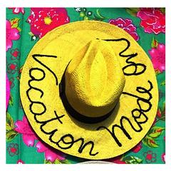 Chapéu Palha Aba GG Amarelo MAlu Pires