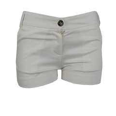 Shorts Cotton Off White Iódice Denim
