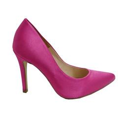 Scarpin Feminino Cetim Pink Divalesi