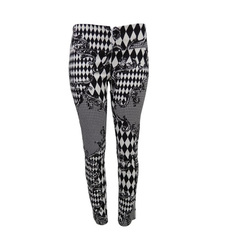 Calça Black White Plataforma Vogue