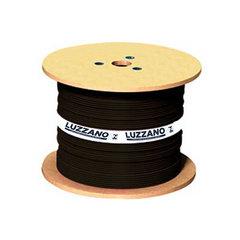 Cabo de Energia Flexível PP 2x2,50MM 500 Volts Rolo com 200 Metros Luzzano Preto - 0400