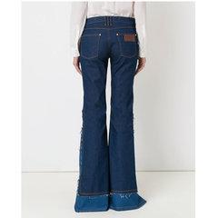Calça Flare Nesga Blue Jeans Amapô