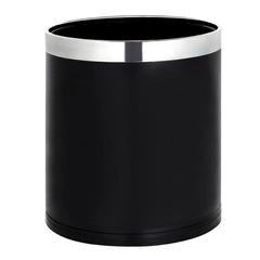 Lixeira de Aço Inox sem Tampa Redonda 9 Litros Mor - 8237