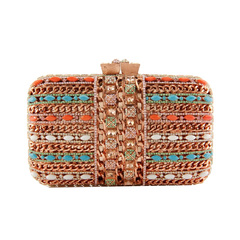 Clutch Correntes Multicolor Donna Brasil