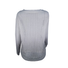 Blusa Tricot Vazada Tie Dye Plataforma Vogue
