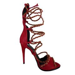 Sandália Feminina Gladiadora Poppy Macro Fashion