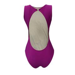 Body com Decote nas Costas Pink N.N Moda