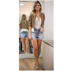 Short Jeans Cintura Alta Laví
