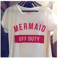 Blusa Mermaid Branco 284