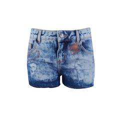 Short Jeans Marmorizado M.Officer